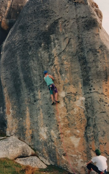 """Hunters Bar"" Grade: 24 or 5.11d"