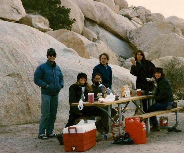 Rich, Lynda, Tad, Cedar, Sean, Maria