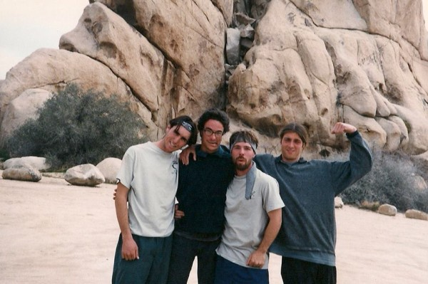 Thomas, Cedar, Scotty B, Sean ~1996
