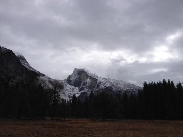 Winter Half Dome