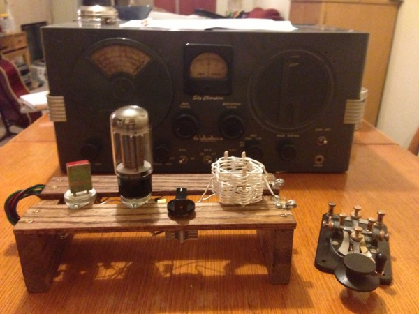 Completed transmitter