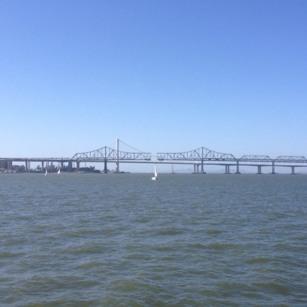 Dismantling of old Bay Bridge is starting.