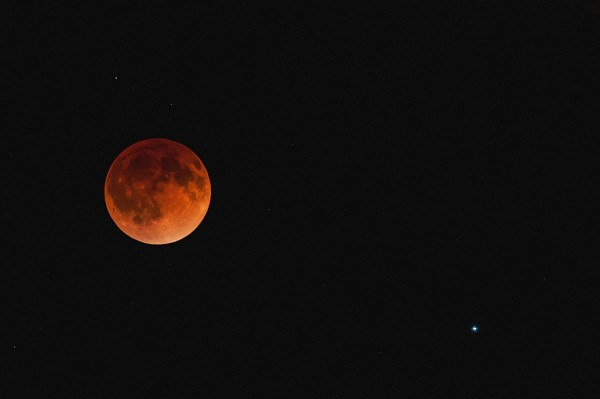 Blood Moon, April 15, 2014, Boulder, CO.