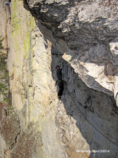climber on Pleasant O's