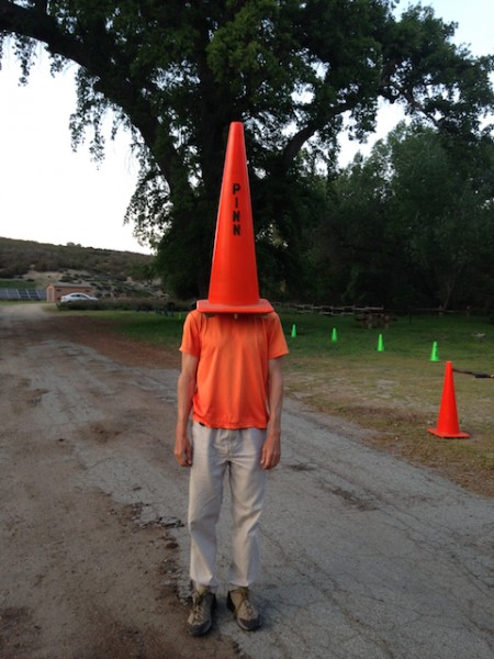 JC as Traffic Cone