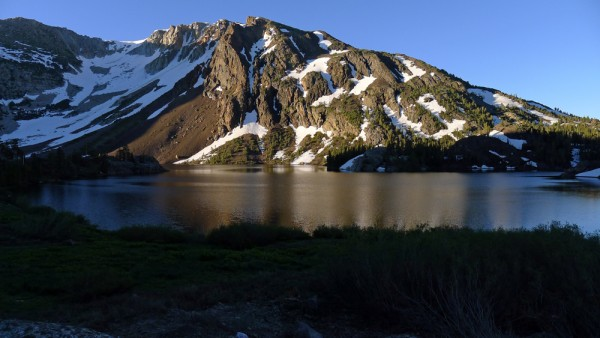 Sunrise at Ellery Lake