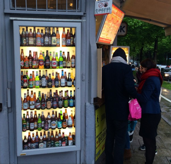 You can buy like 90 beers on most street corners in town.  It's like w...