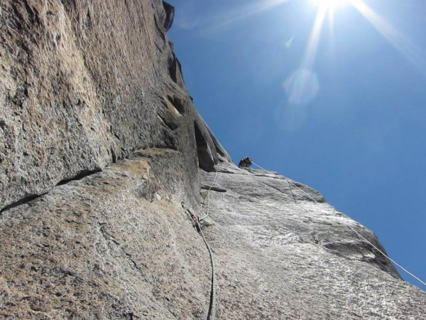 Matty leading The Strange Dihedral-The Prow of Washington's Column-May...