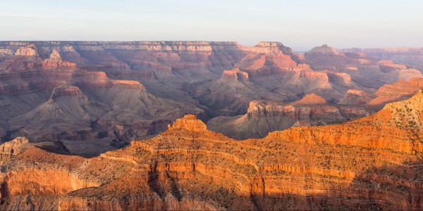 Sunset at Mather Point, just a couple of hours after I finished the R2...