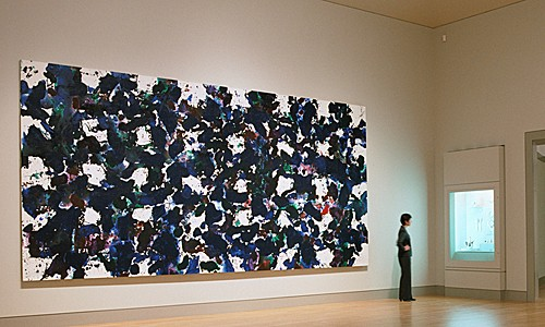 This Sam Francis was amazing!