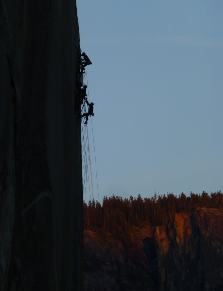 Climbers on the Shield