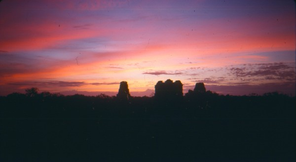 Sunset from Temple 1, Tikal, Guatemala