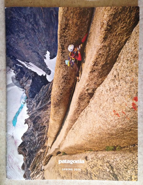 Cover of the spring Patagonia catalog