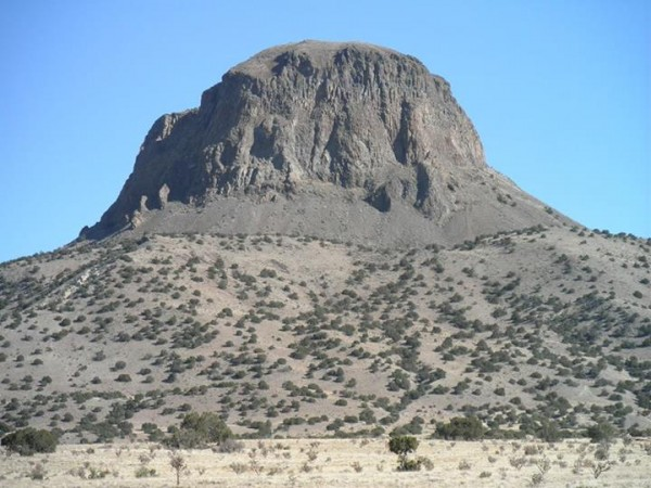 You're looking directly at the west face of Cabezon. The south face th...