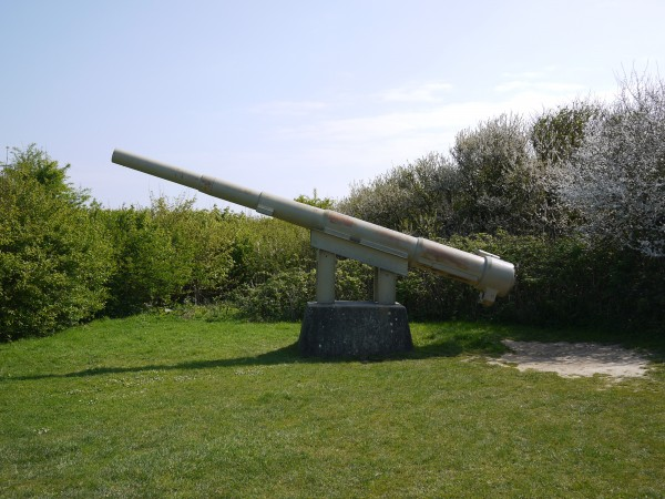 Gun at Point du Hoc