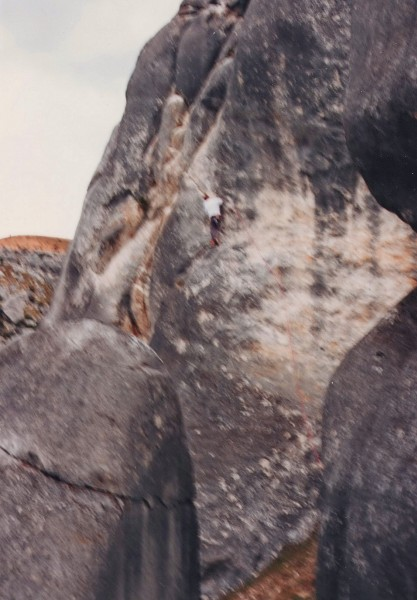"A slightly blurred pic of ""A Taste of Things to Come"" 21 or 5.11a, Cas..."