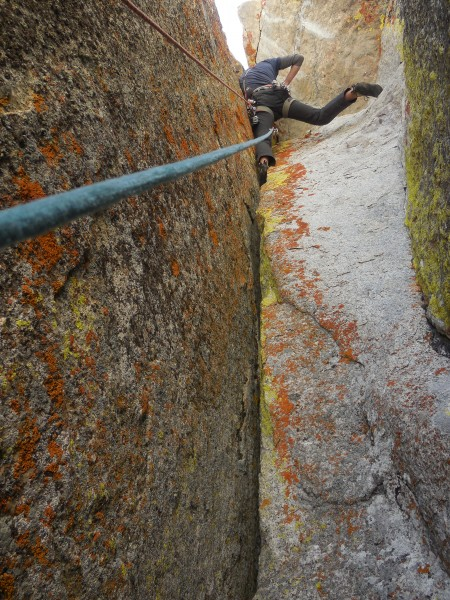 Overhang on pitch 3