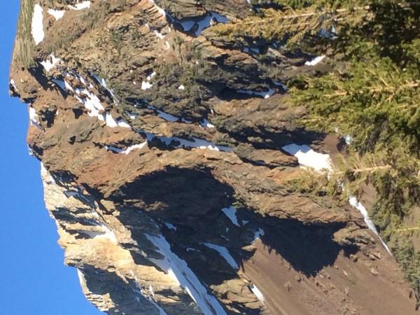 Above Ellery Lake