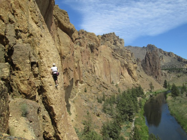 Jete, The Christian Brothers, Smith Rock S.P.
