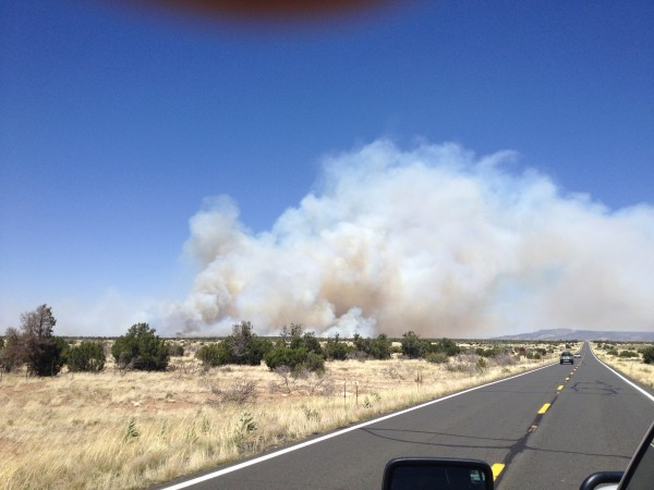 Jacks Fire, less than 90 minutes after it was spotted by FS lookouts. ...