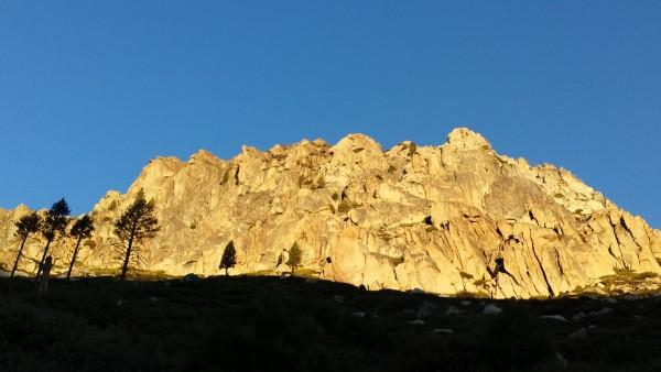 Fortress at sunrise