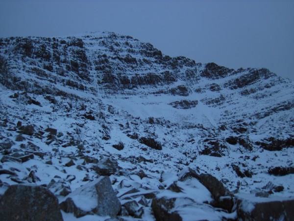 Coire Dubh Mor on Liathach (1/24/14).