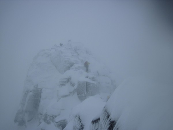 Doing the Fiacaill Ridge on Coire An T-Sneachda in the Cairngorms with...