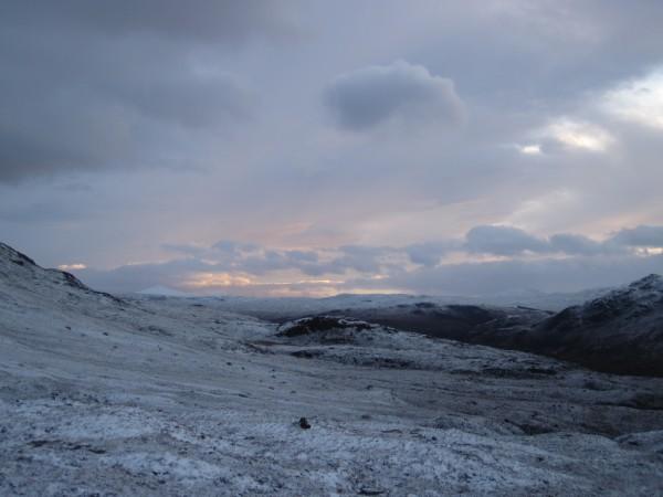 Wonderful Scottish scenery and (yay!) not raining or snowing o...