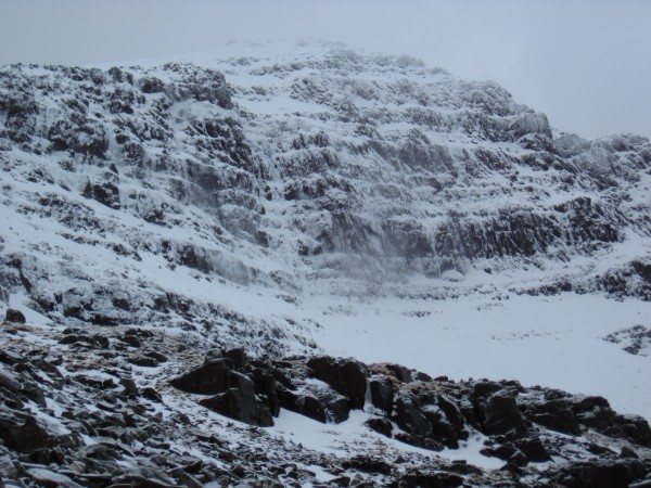 Back to Coire Dubh Mor on Liathach in the Torridon area in the Norther...