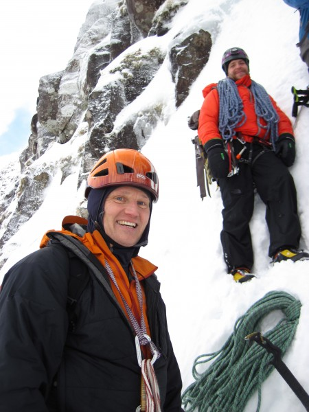 Small world - the climbers were Swedes and included my friend Per whom...