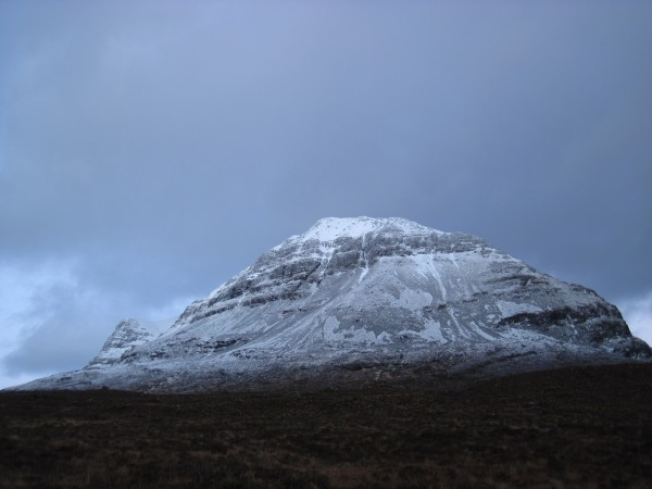 The back side (descent side) of Beinn Eighe on the Torridon Es...