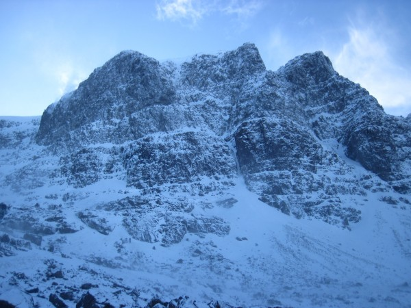 Plan: climb the East Buttress of the Triple Buttresses of Beinn Eighe ...