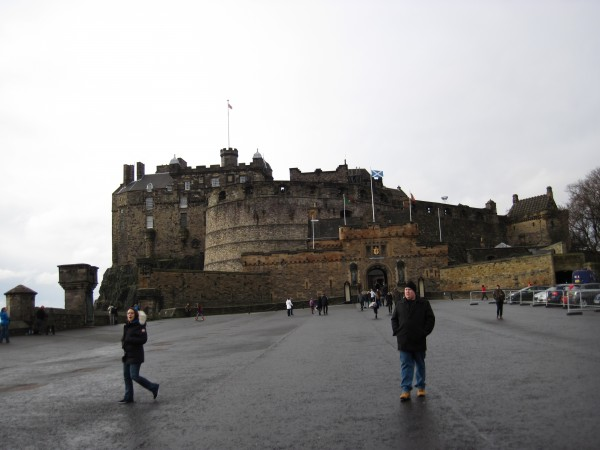 Edinburgh Castle (2/14/14). In the 1st Century AD, local peopl...