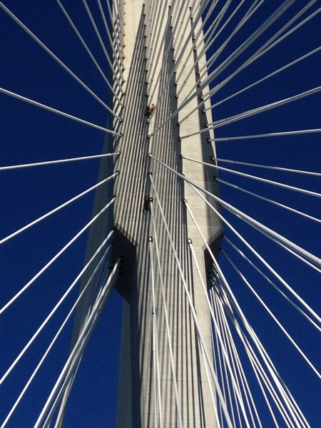 Port Mann Bridge.