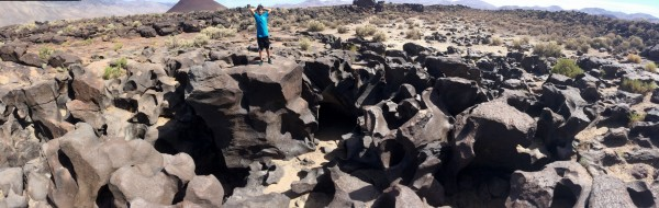 Fossil Falls is cool.