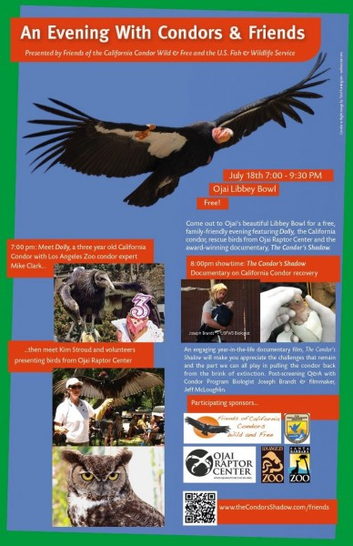 "See the USFWS  ""Condor Cave"" Facebook page for more info on the recove..."