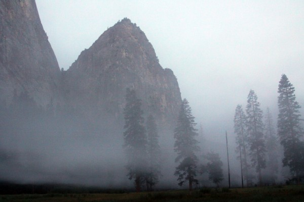 Dust above El Capitan Meadow.  This photo was taken well after most of...