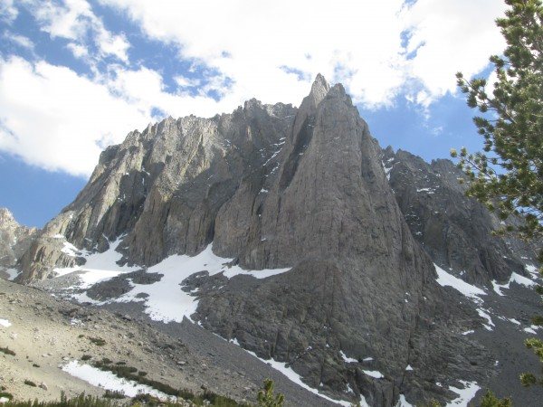 Temple Crag conditions, 6/9/14