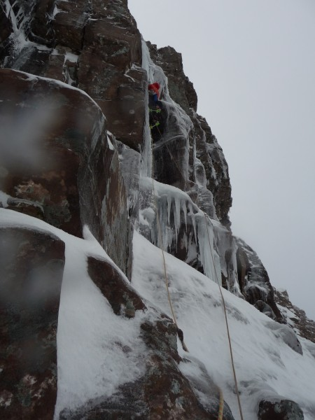 This is sort of what I hoped Scottish winter climbing would be like: s...