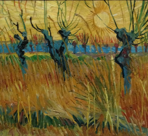 A gorgeous little Van Gogh we had never seen before