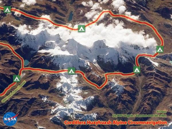 Cordillera Huayhuash Alpine Circumnavigation