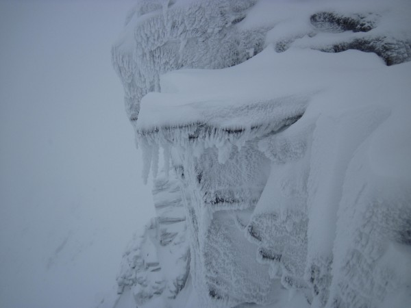 Scottish conditions in the Cairgroms (1/28/14).