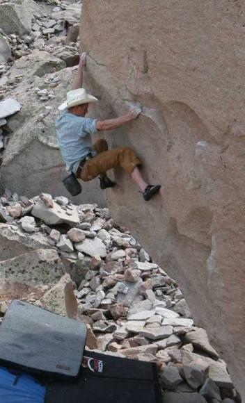 El Cap Boulder