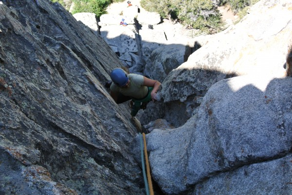 Coming up Norma's book, our last climb in COR