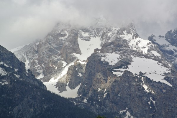 Grand Teton in less than ideal conditions