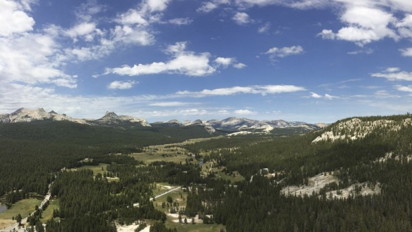 Tuolumne Meadows, from Lembert Dome.