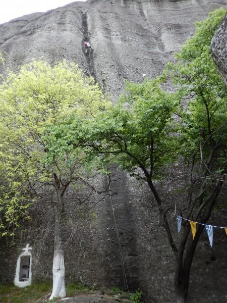 Weg des Wassers (5.11b)