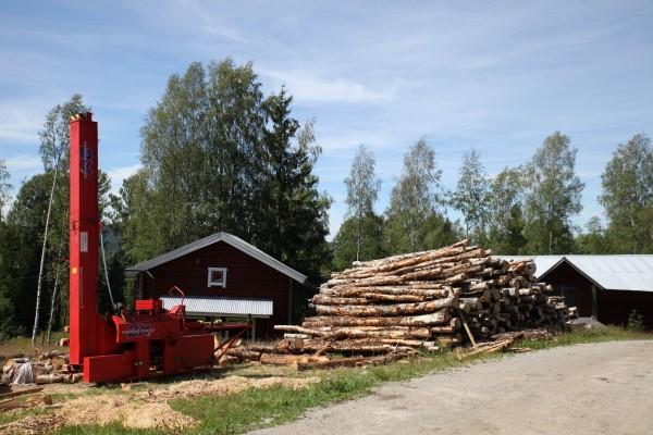 Woodwork at Furuberget