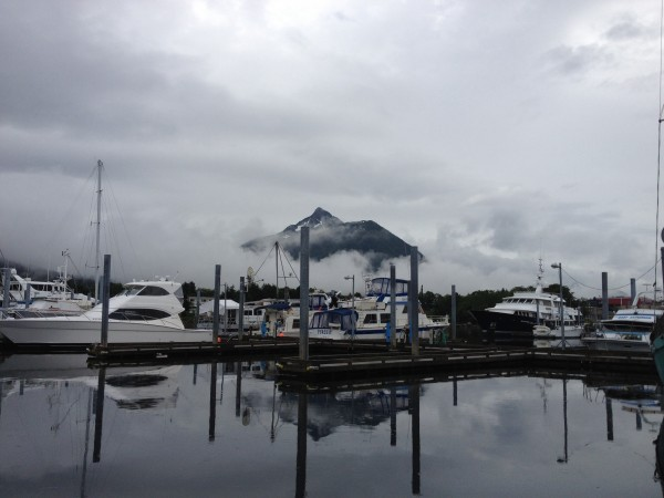 My Edgecumbe after Sitka landing. (It was the first land I saw aft...