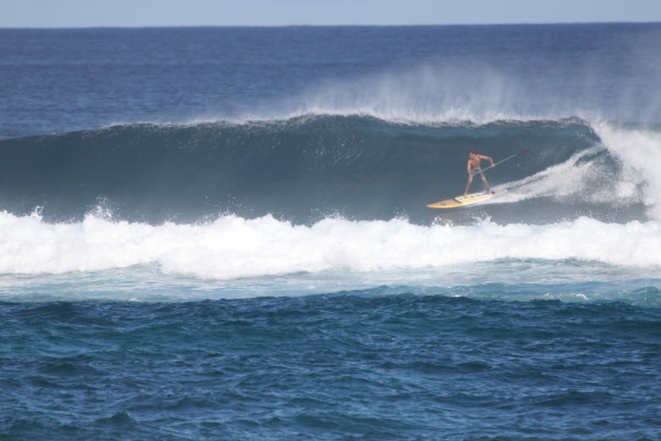 Josh Stone at Kuau, Maui winter 2014 <br/>
